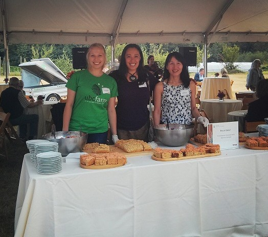Paulina shared Feast Bowl food with over 200 guests at the Uniquely UBC event in August, 2014